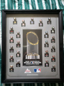 MLB RING DISPLAY