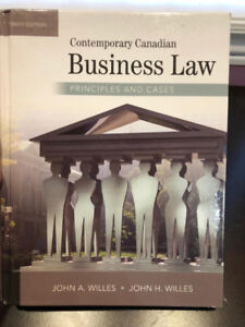 Contemporary Canadian Business Law - tenth edition
