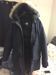 Langford Parka Canada Goose/Navy XL/receipt,hanger and cover