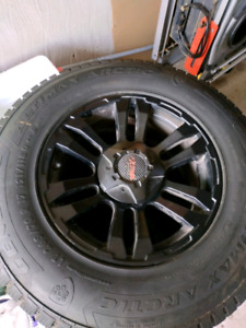 Ram 1500 set of 3 winter wheels tires