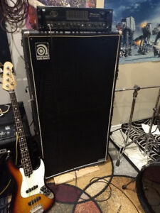 AMPEG SVT 8x10 BASS CABINET for TRADE or SALE