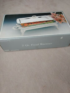 2 Qt. Silver plated Food Warmer / Server