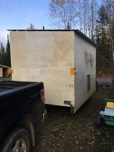 12'x8' Ice shack with Trailer