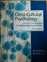 Cross Cultural Psychology by Shiraev and Levy (4th edition)