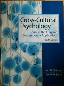 Cross Cultural Psychology by Shiraev and Levy (4th edition) Gatineau Ottawa / Gatineau Area image 1