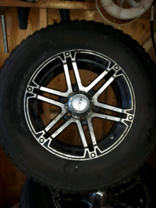 245 70 R 17  firestone At with rims