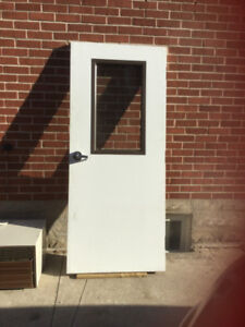 Fire Code Door Baillargeon 33 3/4 x 79 Can Open Right or left