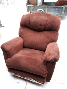 Fauteuil inclinable tissus