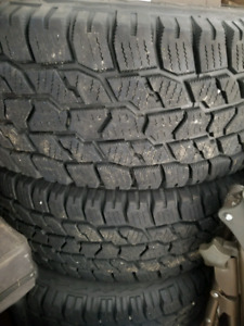 4 winter tires and rims, Ram 1500