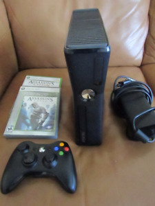 Xbox 360 system with a controller and 3 games (I can deliver)