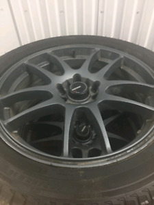 245/45R18 Michelin winter pkg