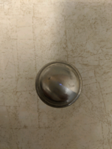 Silver cabinet knobs -24