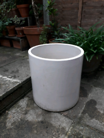 Garden pots and watering can
