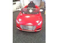 Audi TT 12v Ride On Car In Red Licensed by Audi Parental Remote Control
