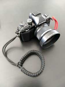 Paracord camera wriat strap.