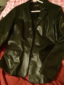 Ladies Danier Leather Blazer Jacket