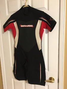 Wetsuits - 2 brand new, 1 used