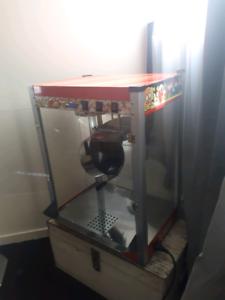 Large popcorn machine.$200 or swap ps4