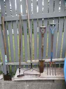 outdoor garden rakes etc 10.00 each Prince George British Columbia image 1
