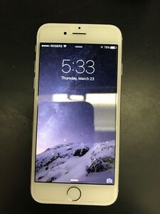 iPhone 6 16g Silver * Rogers*