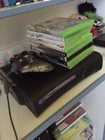 Xbox 360 Elite 120gb 200$ négociable