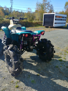 Can am renegade 1000 6 inch lift and tires