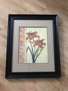 Framed Picture - Flowers