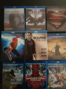 Blurays for sale! Please text 4037953365