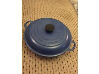 Original LE CREUSET crock pot (cast iron)