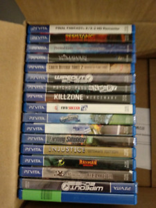 Vita Games for sell or trade for switch - PS4