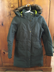 Like New Ladies The North Face TREMAYA Green Down Parka Small