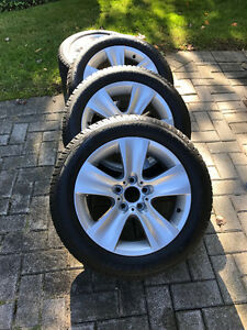 BMW 535x rims and tires London Ontario image 1