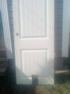 Pet accessible door