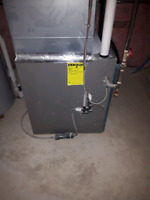 Furnace start up and service