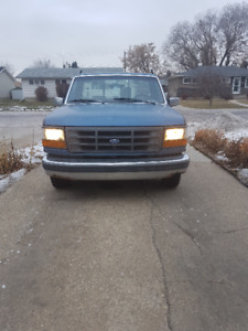 1993 Ford F-150 flatbed. $1500 OBO