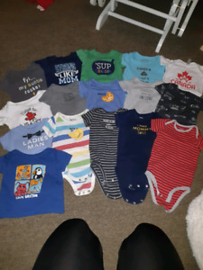 6 Month baby boy clothing lot