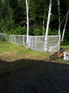 180' de clôture