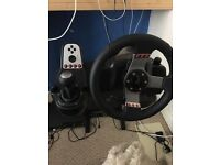 Logictech g27 steering wheel swap for 50inch tv