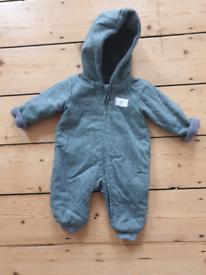 Newborn snowsuit