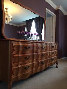 meuble vintage de chambre a coucher