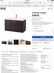 IKEA SINK - FAUCET AND VANITY