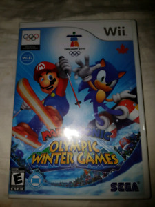 Wii MARIO & SONIC AT THE WINTER GAMES COMPLETE