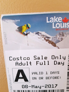 Lake Louise Lift Ticket
