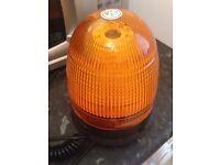 Orange LCD flashing beacon £10.00