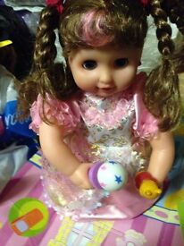 Singing doll for immediate sale