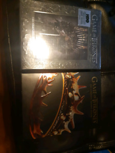 Game 0f thrones season 1 and 2, s1 is new and sealed