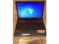 4GB Packard bell HD window7, Microsoft office, kodi installed, ready to use, mint