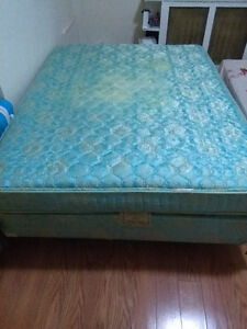 good quality twin size mattress, box and frame