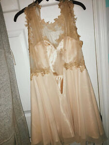 Escort Dress for sale - used once - size 6