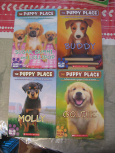 Puppy Place and Kitty Corner Books